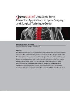 BoneScalpel App